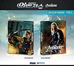 THE AVENGERS (3D/2D Blu-ray Steelbook) [NOVAMEDIA Exclusive FULL SLIP TYPE C; Only 1000 Worldwide; REGION-FREE]