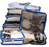 Packeze - Organizador para maletas  Adulto unisex Azul azul
