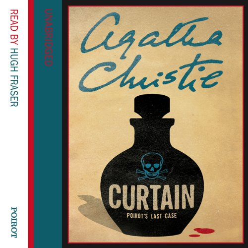 Curtain audiobook cover art