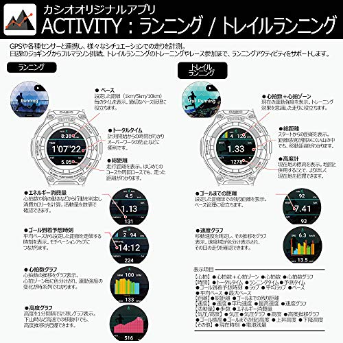 CASIO(カシオ)『PROTREKSmart(WSD-F21HR)』