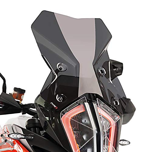 Tourenscheibe für KTM 1290 Super Adventure R/S 17-19 dunkel getönt Puig 9717f