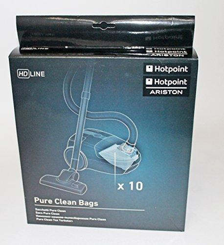Hotpoint - sacchetti Pure Clean, confezione da 10 pezzi,  Hotpoint-Ariston C00298811