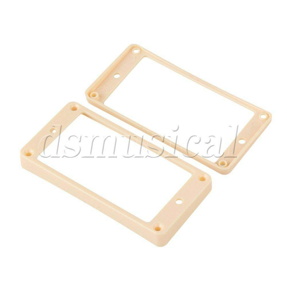 Guitar Parts Plastic Curved Bottom Pickup Covers New life Gu Frame Max 70% OFF L for