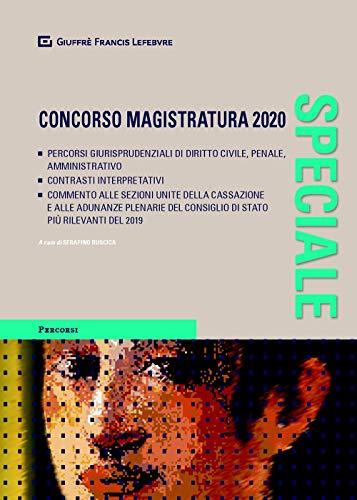 Speciale concorso magistratura 2020