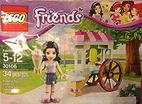 LEGO Friends: Emma's アイスクリーム Stand セット 30106 (袋詰め)