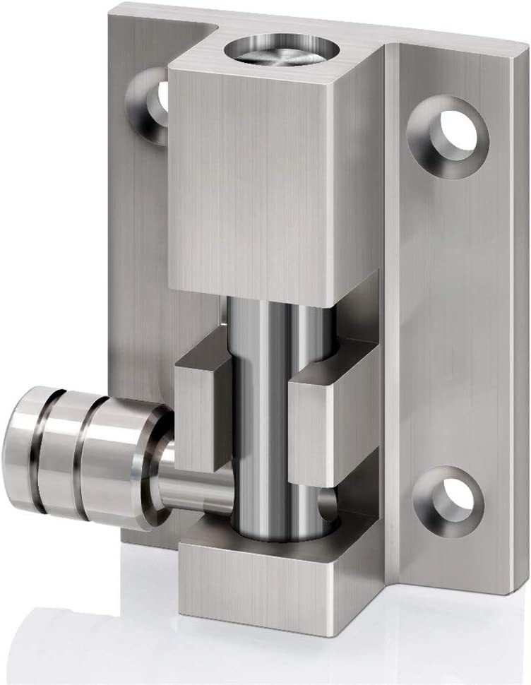 HAHFKJ Cheap mail order sales Safety Bolts Anti-Theft Lock Stainless Award Buckle Thickened S