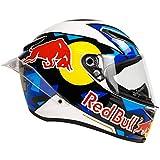 Casco Integral Para Moto, Moda De Cara Completa Ligero Casco De Red Bull Moto, Para Carreras De Motos DOT/ECE Homologado A,M
