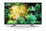 Sony BRAVIA KD49XH81 - 49-inch - LED - 4K Ultra HD - High Dynamic Range (HDR) - Smart TV (Android TV) - with Voice Remote - (Black, 2020 model)
