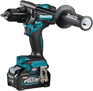 Makita HP001GD202 40V Max XGT Brushless Combi Drill Complete with 2 x 2.5 Ah Batteries, Fast Charger and Interchangeable A...