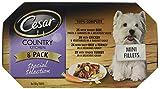 Cesar Country Kitchen - Comida húmeda para perros adultos Perros 1 + Selección especial en salsa, 8 bandejas (8 x 150 g)