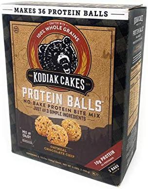 Kodiak Cakes Oatmeal Chocolate Chip Protein Balls 1 box product image