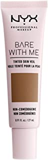 NYX PROFESSIONAL MAKEUP Bare With Me Tinted Skin Veil - Nutmeg Sienna (Medium Deep With Neutral Undertone)