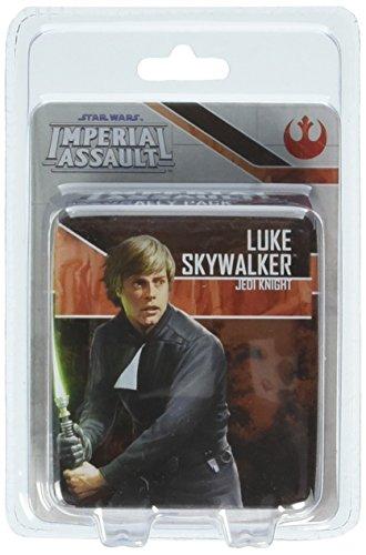 Fantasy Flight Games FFGSWI33 Luke Skywalker, Jedi Knight Ally Pack: Star Wars Imperial Assault, Mehrfarbig
