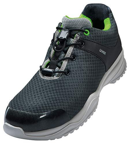 Uvex Sportsline Calzado Profesional de Seguridad S1 P SRC | Zapatilla Deportiva de Trabajo | Punta Antiaplastamiento de Composite