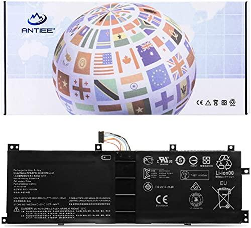 ANTIEE BSNO4170A5-AT 5B10L68713 Laptop Battery for Lenovo Ideapad Miix 510-12ISK 80U1 510-12IKB 80XE 520-12IKB 20M3 20M4 81CG, Miix 5 pro 510-12 Series LH5B10L67278 BSNO4170A5-LH 7.68V 39Wh 5110mAh