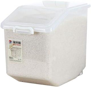 Conteneur Stockage Riz Qualité SupéRieure Scellé BoîTes Stockage Grain Cuisine éTanche à L'Humidité Grande BoîTe Stockage ...