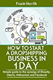How to Start a Dropshipping Business in 1 Day: Simple Guide to the Synergy of Shopify, Oberlo, AliExpress and Facebook