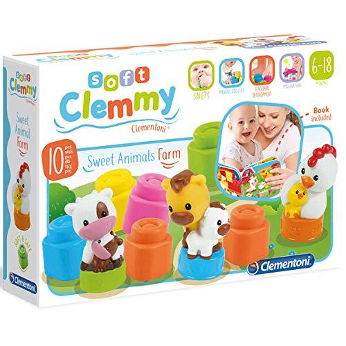 Clementoni 17174 - Mamma e Cuccioli della Fattoria