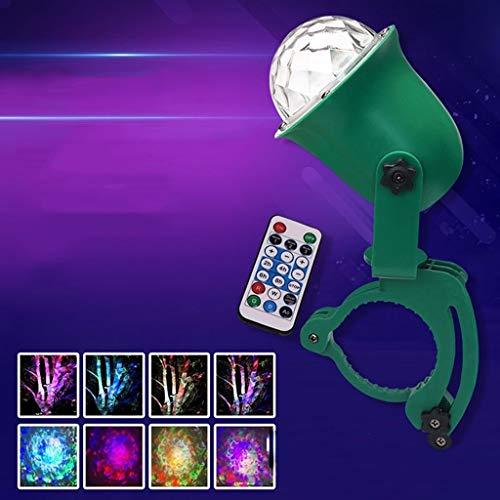 Disco Kugel, LED-Baum-Projektor-Licht Dynamische Ripple Ozean-Effekt-Licht Im Freien Wasserdichten Rasen-Licht-Farbe Festival Magic Ball Disco Stage Light A1