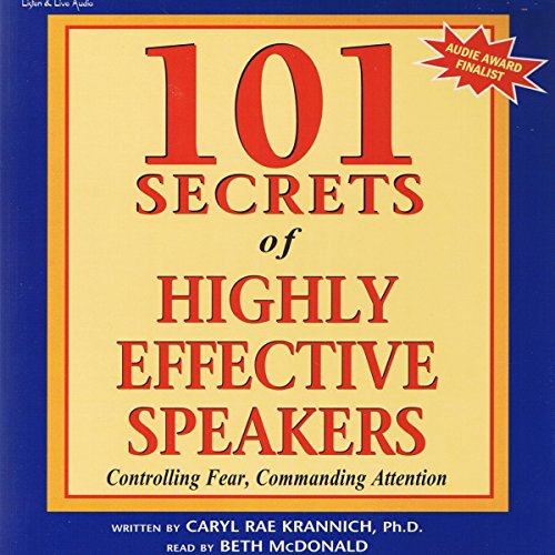 101 Secrets of Highly Effective Speakers audiobook cover art