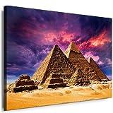 Leinwandbild Ägypten Pyramiden Bild Leinwandbild fertig