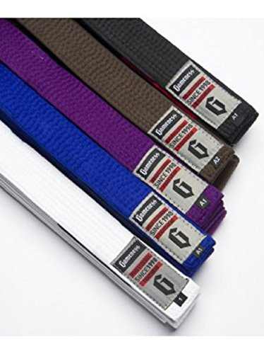 Gameness Brazilian Jiu Jitsu Belts - Blue - A2