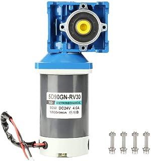 DC24V 90W 5D90GN-RV30 Motor de engranaje helicoidal reversible de cierre automático Motor de reducción de velocidad de CC de alto par(80K)