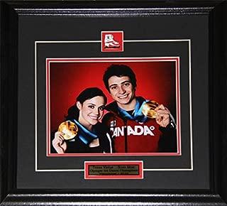 Midway Memorabilia Tessa Virtue & Scott Moir Team Canada 2010 Vancouver Winter Olympics Gold Medal 8x10 Frame