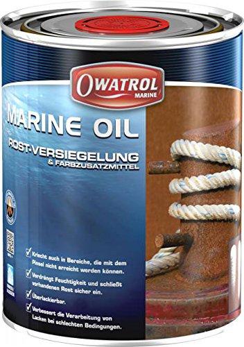 Owatrol Marine Oil Rostentferner Rostversiegelung 5 Liter