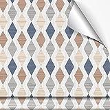 Megadecor Vinilo Decorativo, modelo GIYANI , 60cm x 240cm, Para Muebles y Paredes, Resistente al Agua y La Humedad (Texturizada)