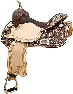 Tex Tan Deep South Racer Barrel Saddle