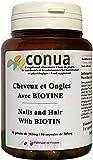 Capelli Forti Unghie e Pelle con BIOTINA + ZINCO, ortica, vitamina B5 B6 B7 B8, magnesio, L-cisteina, L-Cytin capsula vegetale VEGAN