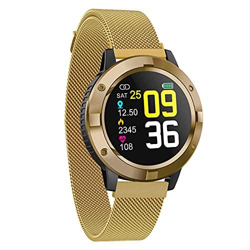 Reloj Inteligente Presión Arterial Monitor De Ritmo Cardíaco Bluetooth Deportes Smartwatch Moda Fitness Pulsera Inteligente -
