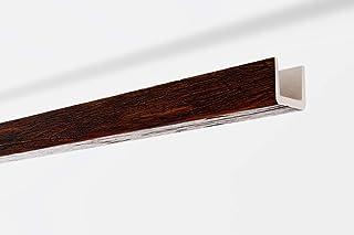 Viga decorativa techo Imitación madera nogal NMC NOMABEAM 100X100X2000mm Poliuretano 2 metros