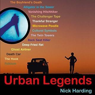 Urban Legends audiobook cover art