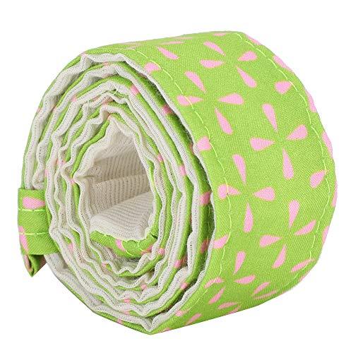 nulala 80x3.7cm Bake Even Strip Belt Cake Pan Strips Baking Sheet Banding Cloth Cake Decorating Pasty Tool Cloth(Pink Green)