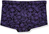 Maidenform Women's Dream Microfiber Boyshort Panty (40774), Linear Floral Print, 5