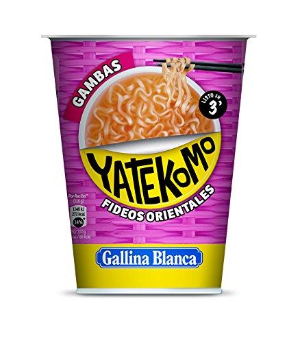 Gallina Blanca - Yatekomo gambas - Preparado de fideos