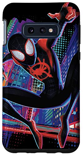 Galaxy S10e Marvel Spider-Man Into the Spider-Verse Miles Morales City Case