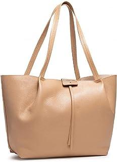 PATRIZIA PEPE Pepe City Shopper Tasche Leder 33 cm