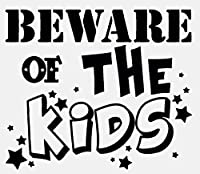 Beware Of The Quote Inspirational Word Decal Pvc Bedroom Kid Room Home Wall Sticker Decoration 66X56Cm