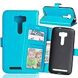 YYhin pour Coque ASUS ZenFone 2 Laser 5.0 ZE500KL(5.0'),Etui en Cuir pour téléphone Portable, Etui...