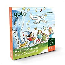 Yoto 'My First Classical Music Collection' Card Pack for Yoto Player and Yoto App – Includes 10 Cards with Albums by Beethoven, Mozart, Tchaikovsky and More – for Boys and Girls Ages 3–8 Years