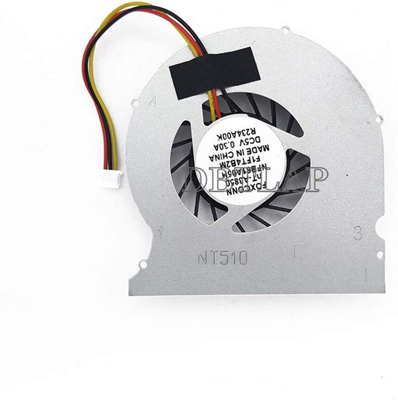 DBTLAP Laptop CPU Fan Compatible Easy-to-use NDT-PCN 5 ☆ very popular NT410 NT510 FOXCONN for