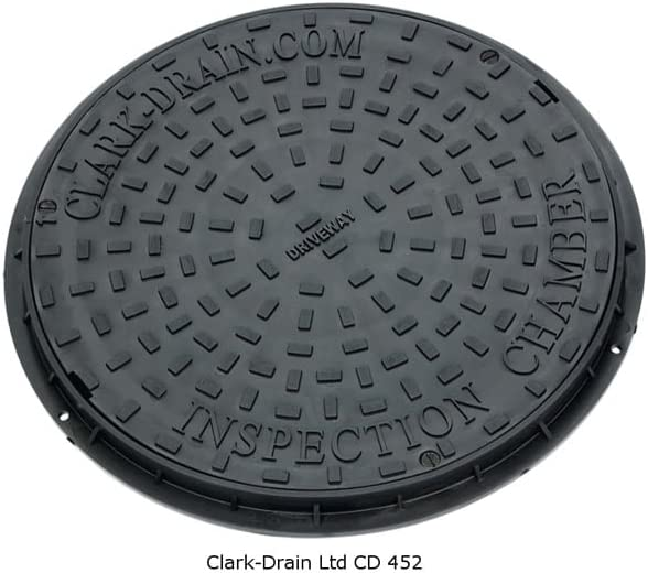 At the price Clark Drain CD452 Inspection Chamber Solid Max 70% OFF Top Plastic DualLock