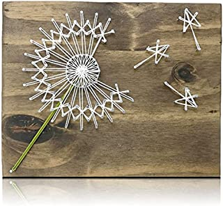 Dandelion String Art Kit - DIY Kit, Crafts Kit for Adults, String Art Crafting Kit
