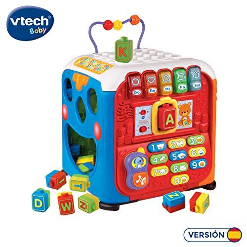 VTech- Alfacubo sorpresas Maxi Cubo de Actividades Que Contiene Engranajes...