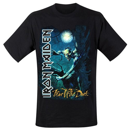 Iron Maiden - T-Shirt Fear Of The Dark Tree Sprite (in L)