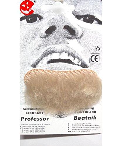 Barba finta pizzetto bionda Professore