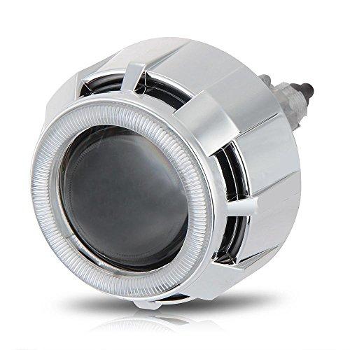 Shsyue®Car 2.5 Pouces HI Bi-Xenon HID Lentille du Projecteur 6000K Argent